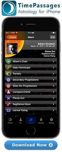 TimePassages Best Astrology App for iPhone