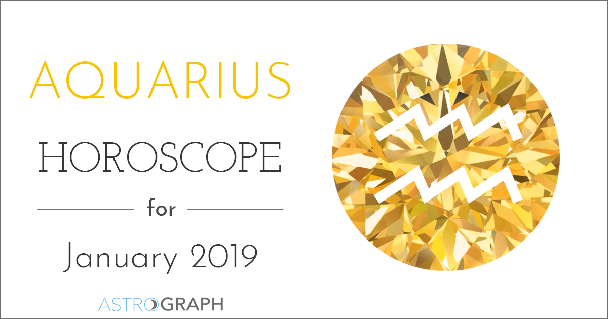Aquarius Horoscope for January 2019