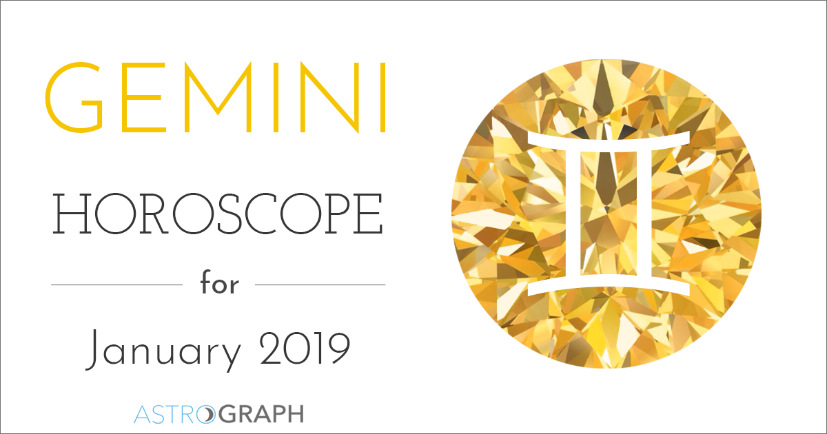 Gemini Horoscope for January 2019