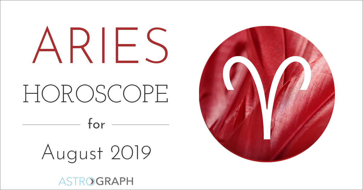 Aries Horoscope for August 2019
