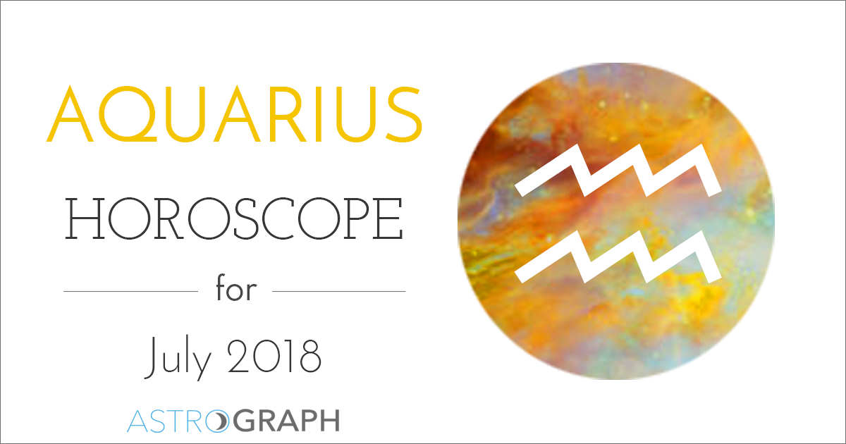 Aquarius Horoscope for July 2018