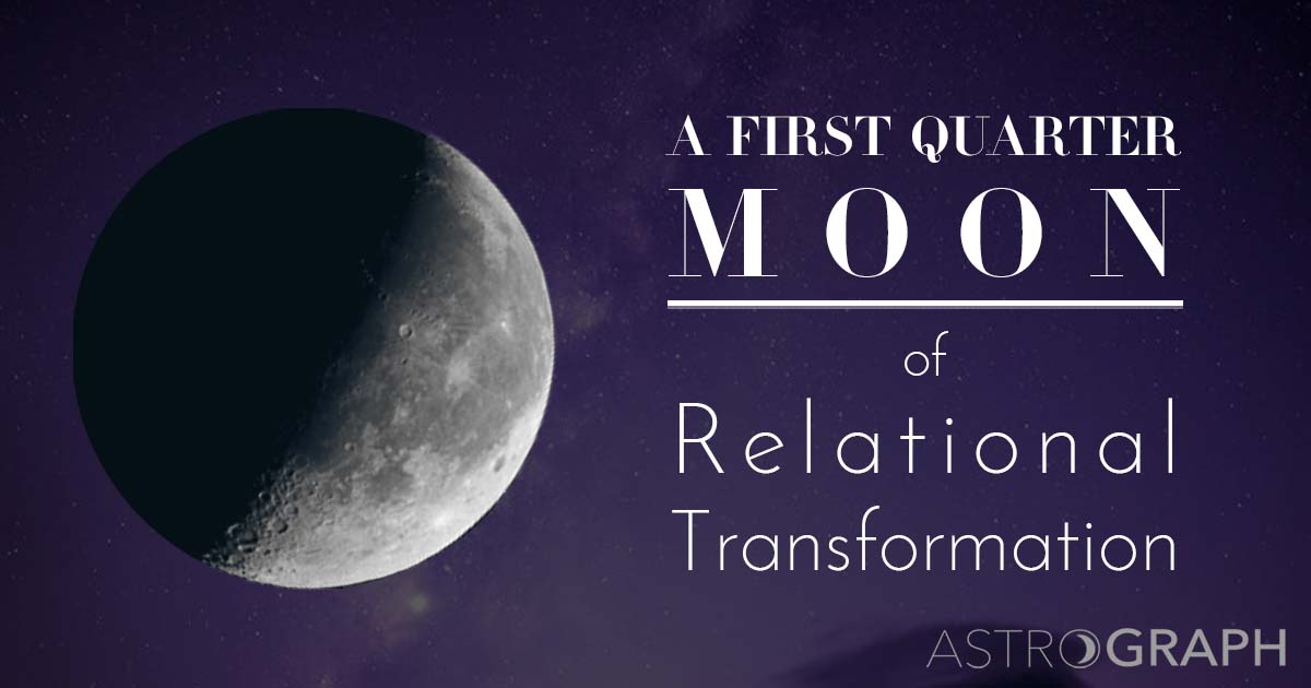 A First Quarter Moon of Relational Transformation